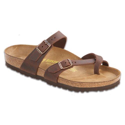 Birkenstock Women's Mayari Leather Thong Sandal