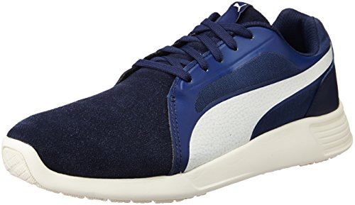 peacoat whisperblanc Sd Bleu Trainer St Baskets Evo Puma ngUzzq