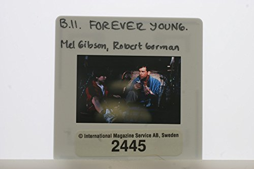 "Slides photo of A action from the film ""Forever Young"" casting by Mel Gibson and Robert Hy Gorman."