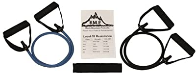 Black Mountain Products Set Of 2 Resistance Bands