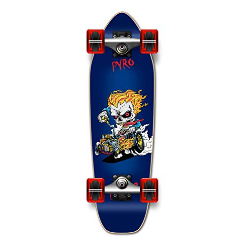 Awesome Graphic Complete Longboard- Mini Cruiser- Banana Cruiser 27