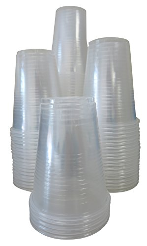 Crystalware Plastic Cups 9 oz., 80 count, Clear