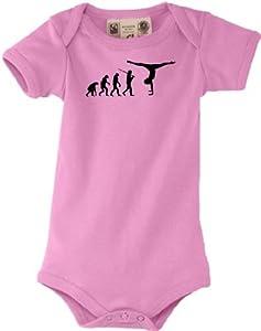 Shirtstown Baby Body Evolution Joga Gymnastik Ballet, turnen, kult, Farbe...