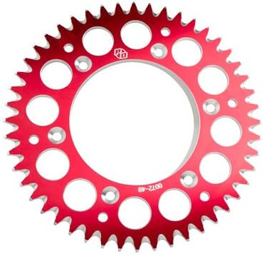 Primary Drive Rear Aluminum Sprocket 56 Tooth Red for Honda CRF150R 2012-2018