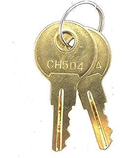 2 Cut Keys Code CH508 RV Compartment Lock Truck Tool Box Keys Cargo