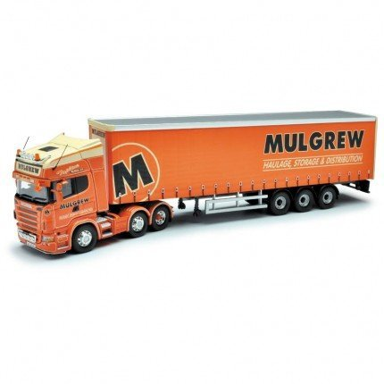 Corgi 1/50 Scale Diecast CC13740 - Scania R Curtainside - Mulgrew Co. Down B004LLCFUC