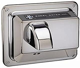 product image for Automatic Recessed Mounted 110 / 120 Volt Hand Dryer in Chrome