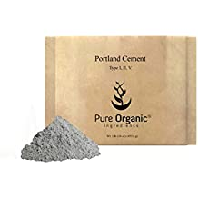 Portland Cement (1 lb (16 oz)) Sulfate Resistant, Low hydration heat, Type I,II,V (Eco-Friendly Packaging) (Also available in 8 oz & 5 lb)