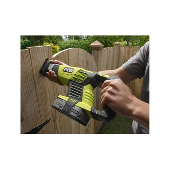 (Ryobi P514 18V Cordless One+ Variable Speed Reciprocating Saw w/ 2 Blades (Batteries Not Included / Power Tool Only))