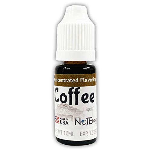 NoTE Flavors Liquid Coffee - 10-120mL Food Grade Concentrated Flavoring (10mL) ()