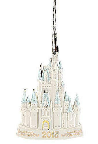 Lenox Walt Disney Cinderella fairy tale Castle Porcelain Ornament New in ()