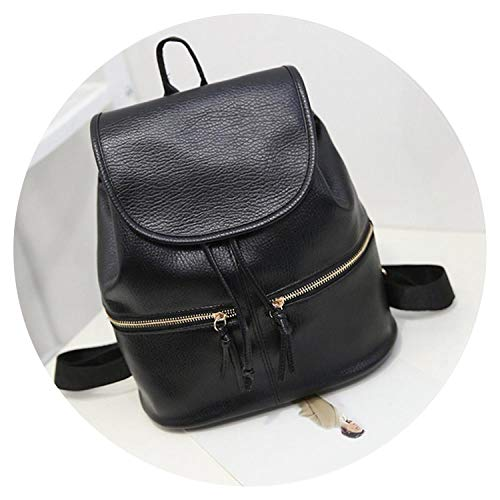 Soft Leather Women Backpack Korean Style Ladies Strap Daily Teenage Girl Back pack