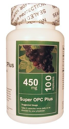 All Nature Super OPC Plus (Grape Seed, Red Wine and Pine Bark Extract)