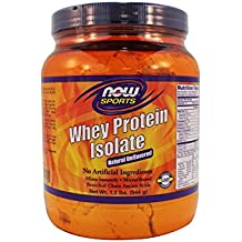 Now Foods Whey Protein Isolate (Unflavored) - 1.2 lb. 2 Pack