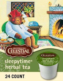 SLEEPYTIME HERBAL TEA K CUP 144 COUNT by Celestial Seasonings