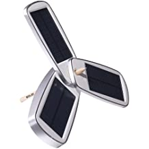 Solio Classic2 Battery Pack and Solar Charger (Silver)