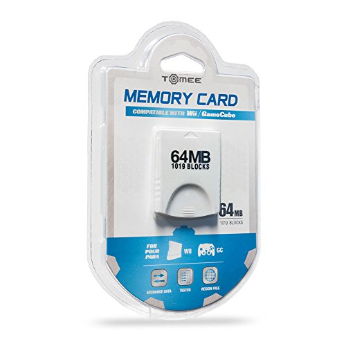 Wii/Gamecube 64MB Memory Card (1019 Blocks)
