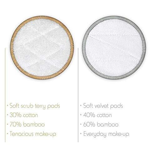 Amazon.com: Almohadillas de maquillaje reutilizables, 16 ...