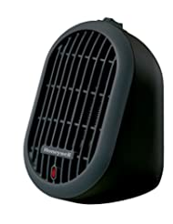 Honeywell HCE100 Heat Bud Ceramic Portable-Mini Heater, Black