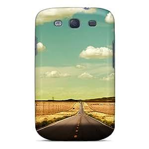 Unique Design Galaxy S3 Durable Tpu Case Cover Route 66