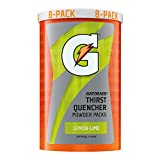 Gatorade Thirst Quencher Powder Sticks, LEMON-LIME, 1.23 Ounce Powder Sticks (Pack of 8)