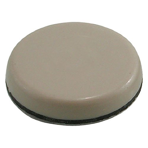 Shepherd Hardware 3951 1-Inch and 1-3/4-Inch Adhesive, Round, Slide Glide Furniture Sliders, 20-Count