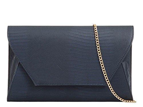 For Women Haute Envelope Orange Diva Navy Clutch 3D Bag USZHcTZ1W