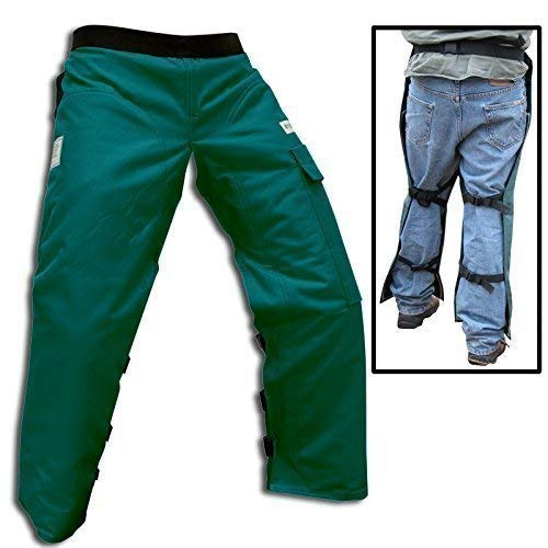 (Forester Chainsaw Safety Chaps with Pocket, Apron Style (Regular 37
