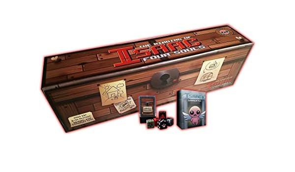 Juego de Mesa The Binding of Isaac Four Souls | The Death Grip of Goodies Bundle: Amazon.es: Juguetes y juegos