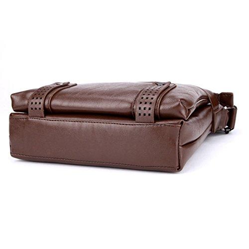 marrón para al hombre POLO VICUNA Bolso hombro marrón caqui a0Rgpfq