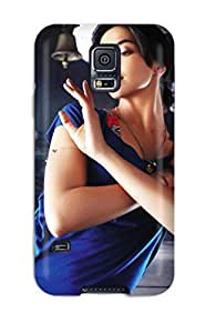 High Grade CaseyKBrown Flexible Tpu Case For Galaxy S5 - Deepika Padukone Hd