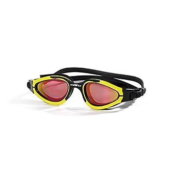 Maru Groove lentes polarizadas y espejo gafas de natación – rojo – amarillo/negro marco