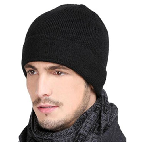 sombrero Black peludas de el Tejido sombrero sombrero ZHAS peludo cálido libre al aire deportes invierno RnxA6BqF