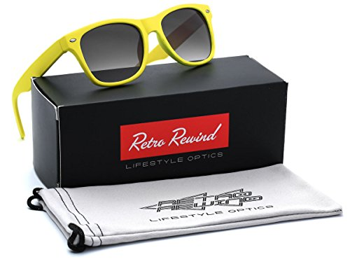 Kids Soft Frame Sunglasses AGE 3-12 - - Yellow Sunglasses Kids