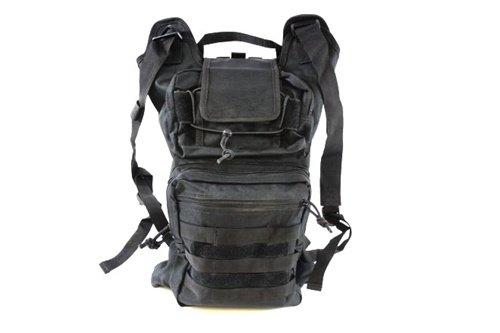 Diamond Tactical Folding Backpack w/ MOLLE Webbing – BLACK, Outdoor Stuffs