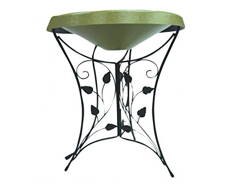 Birds Choice Ivy Pedestal Heated Bird Bath by Birds Choice
