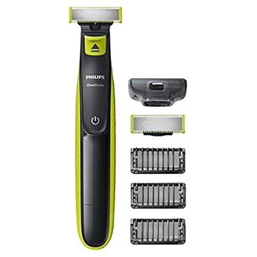 chollos oferta descuentos barato Philips QP2520 30 OneBlade Recortador de barba recorta perfila y afeita recargable