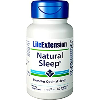 Life Extension Quiet Sleep, 3mg 60 Vegetarian Capsules