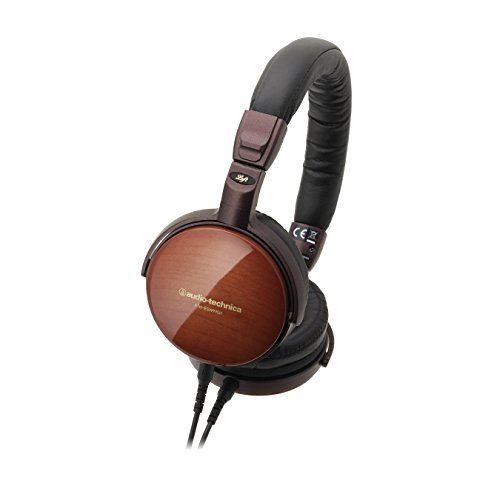 Audio-Technica ATH-ESW990H Portable Wooden On-Ear Headphones by Audio-Technica