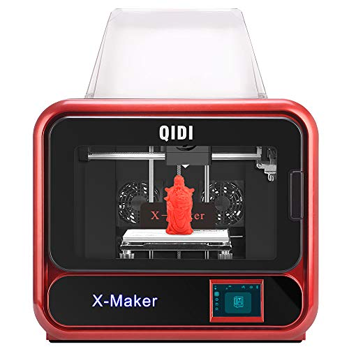 QIDI Technology High-end 3D Printer:X-Maker,Focus on Homes and Education,Built-in Camera Monitoring Technology