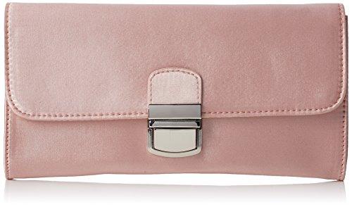 Dorothy Perkins Pushlock Wristlet - Pochette da giorno Donna, Pink, 22x12x2.5 cm (W x H L)