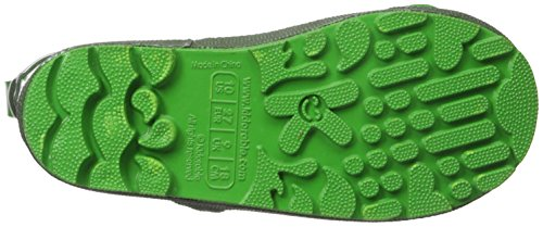 Kidorable Green Frog Natural Rubber Rain Boots With A Pull On Heel Tab (Little Kid) 12 M US by Kidorable (Image #3)