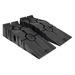RhinoGear 11912 RhinoRamps MAX Vehicle Ramps - Set of 2 (16,000lb. GVW Capacity)