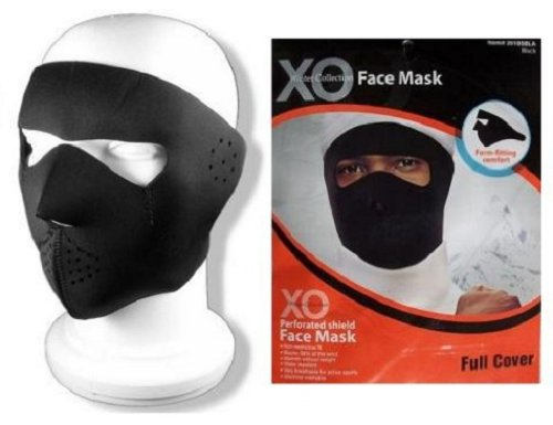 Face Mask Full Cover Black Balaclava