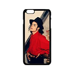 2015 customized iPhone 6 Case, [Michael jackson] iPhone 6 (4.7) Case Custom Durable Case Cover for iPhone6 TPU case(Laser Technology)