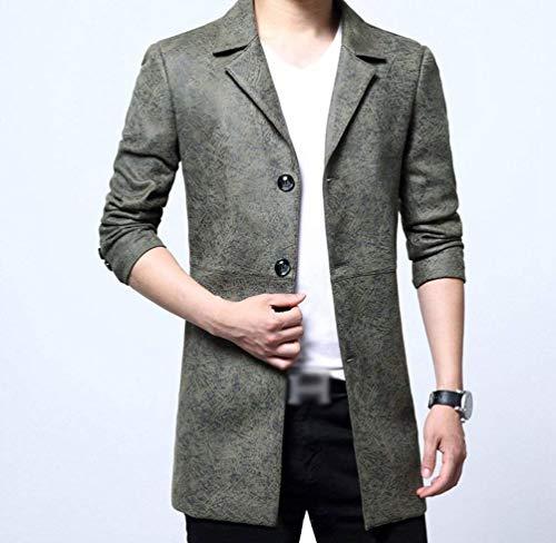 Da Blazer Grün Windbreaker Fashion Giacca Slim Jacket Leisure Fit Young Classiche Lavoro Uomo Warm Ragazzi x4UddgqIw