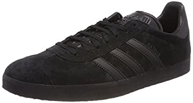 adidas, Gazelle Original Sneakers, Men's Shoes, Core Black/Core Black/Core Black, 7.5 US (7.5 AU)