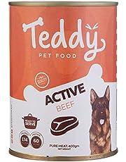Teddy Active Beef Dog Food, 400 gm