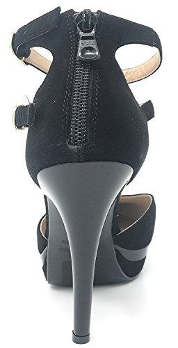 Nero Giardini A719650DE negro, salones, Mujer