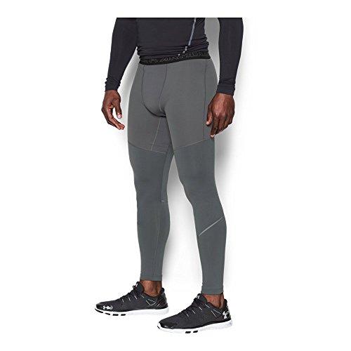 Under Armour Men's ColdGear Armour Elements Leggings, Graphite/Black, Medium